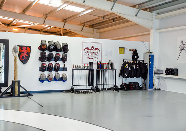 The Knight Shop Fight School - The official fight school of Red Dragon Longsword Academy