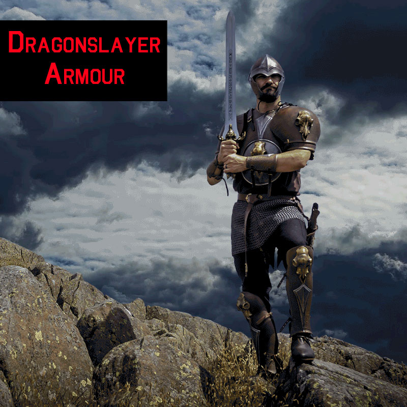 Dragonslayer Barbarian LARP Armour