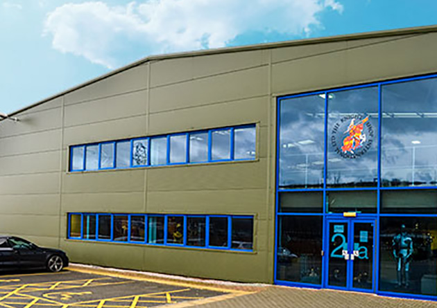 The Knight Shop head office and warehouse - UK largest supplier of historical swords, armour and historical giftware